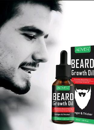 Масло для роста бороды Beard Growth