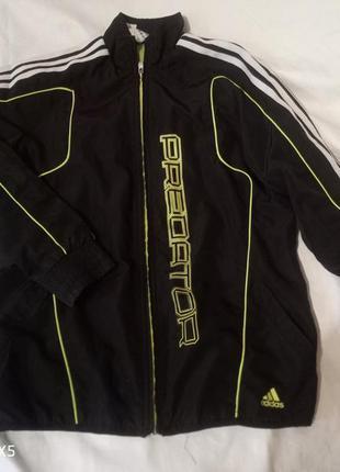Спортивная кофта (ветровка) на 13-14 лет adidas