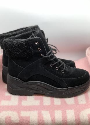Зимние ботинки, полусапоги с мехом