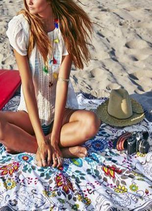 14-80 пляжний килимок коврик подстилка на пляж настенный гобел...