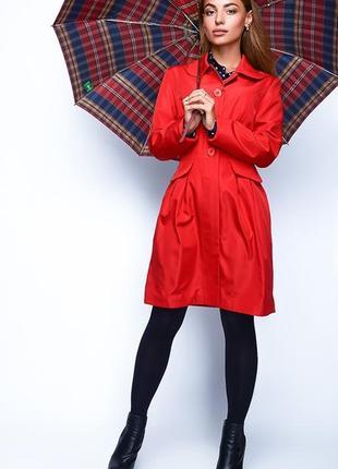 Модный,стильный плащ женский из плащевки ,актуальная модель