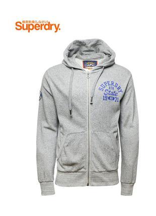 Мужская zip худи / hoodie super dry оригинал