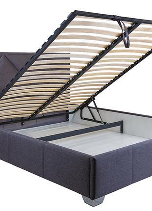 продам кровать с мягким изголовьем и подьемным механизмом