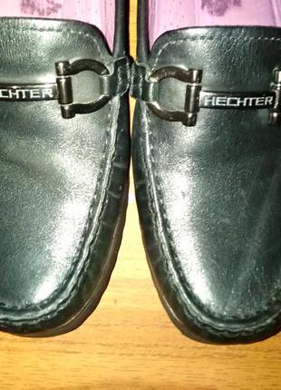 Женские туфли лоферы daniel hechter натуральная кoжа
