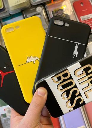 Чехлы iPhone 5/5s, 6/6s, 7/8, 7plus/8plus, X/XS, XR, XS max айфон