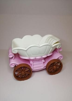 Sale! качественная карета для феечек в форме цветка понравится...