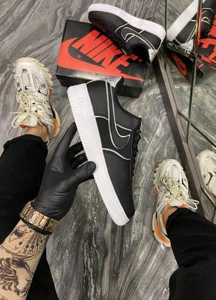 Nike air force 1 low black white