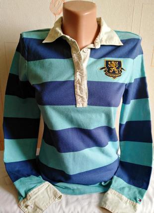 Рубашка поло с длинным рукавом tommy hilfiger