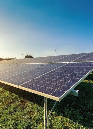 """Сетевая солнечная электростанция 30 кВт,""""зеленый тариф"""", под ключ"""