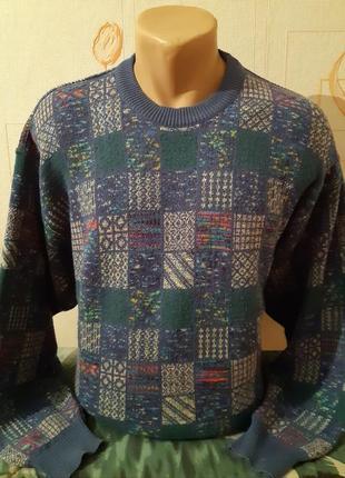 Винтажный свитер francesco morri, made in italy