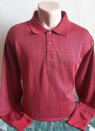 Рубашка поло с длинным рукавом/лонгслив bexleys man