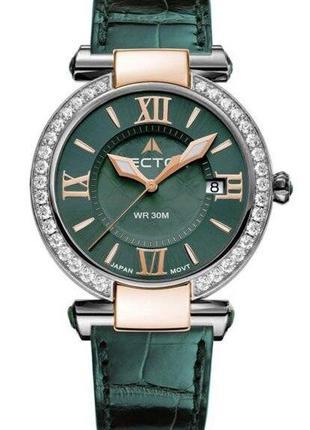 Биколорные женские ретро часы VECTOR Вектор VC9-0025652Q