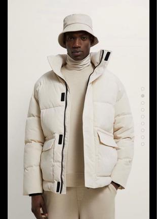 Курточка от zara, молочный цвет