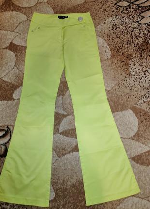 Лимонные штаны Sense размер 27 или S