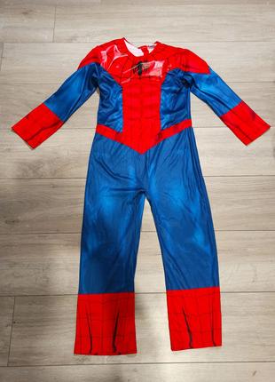 Костюм супергероя человека павука спайдермена