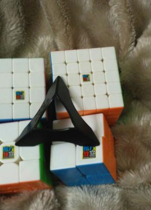 Набор кубиков рубика MoYu+подставка в подарок