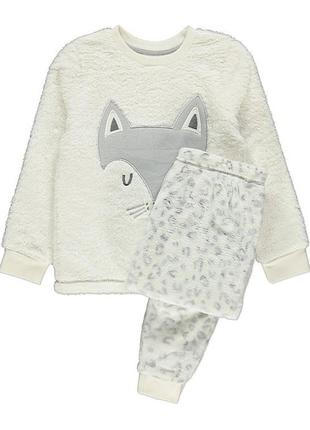 Мягкая флисовая пижамка джордж. размер 12-13 лет(152-158)