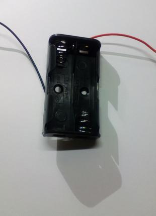 Держатель кассета для 2 шт АА
