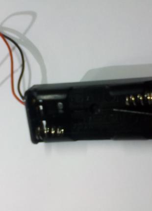 Держатель кассета для 2 шт ААА