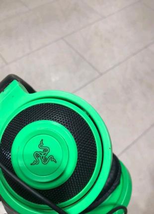 Игровые Наушники Razer Kraken Green