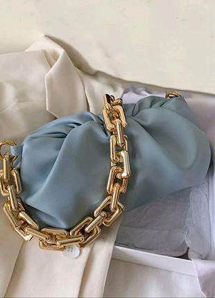 Сумка-клатч Bottega Veneta The Chain копия