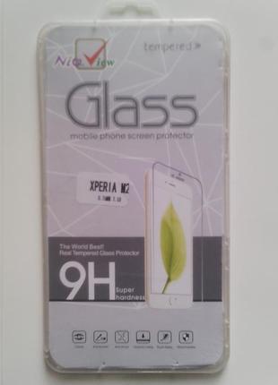 Защитное стекло на Sony Xperia M2 134 х 65 мм
