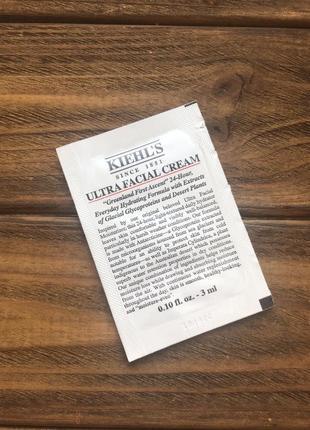 Увлажняющий крем для лица kiehl's ultra facial cream 3 ml