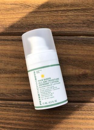 Солнцезащитный крем для лица peter thomas roth max sheer spf30