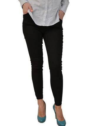 Женские брюки-стрейч с карманами