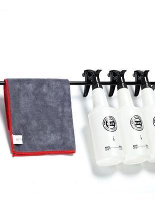 Полка-вешалка для хранения тряпок и бутылок 58см KLCB KA-G060