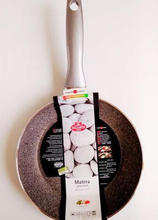 Сковорода антипригарная алюминиевая BALLARINI MATERA GRANITIUM Ит