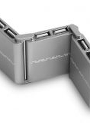 USB hub CROWN CMH-B08 silver