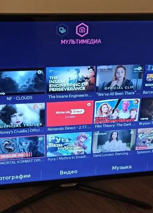 Samsung UE42F5500AK Smart TV готов ответить на все вопросы