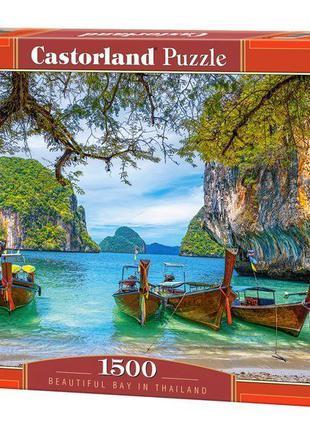 """Пазлы """"Прекрасная бухта в Таиланде"""", 1500 элементов Castorland (C"""