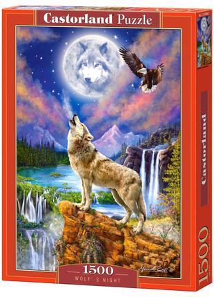"""Пазлы """"Ночь волка"""", 1500 элементов Castorland (С-151806)"""