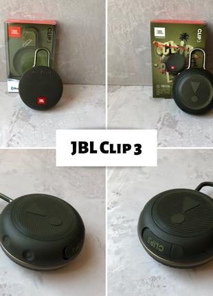 JBL clip 3 портативна колонка