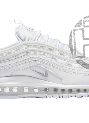 Женские кроссовки nike air max 97 triple white 921826-101