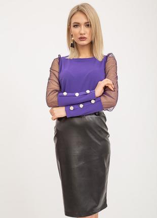 Блуза женская  цвет фиолетовый