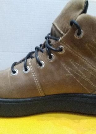 Ботинки зимние мужские кожаные, кожа натуральная