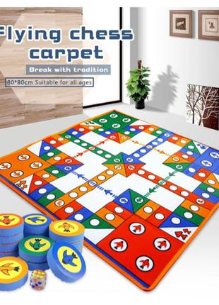 Детский развивающий коврик-головоломка