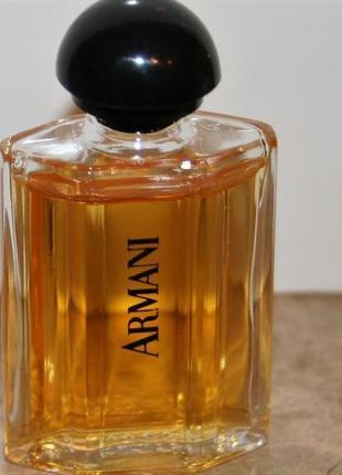 Giorgio armani armani оригинал винтажная миниатюра