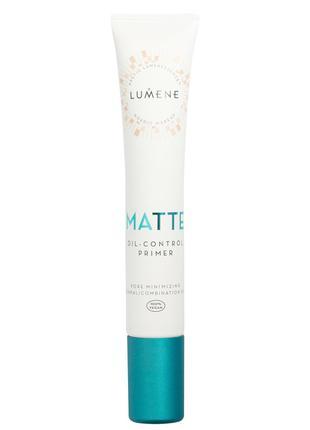 Матирующий праймер для лица Lumene Matte Oil-control Primer