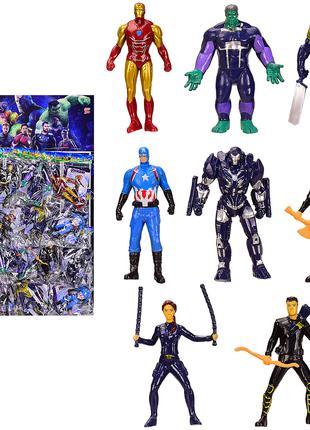 Герої 34910 (Месники (The Avengers) MARVEL) ціна за 8шт