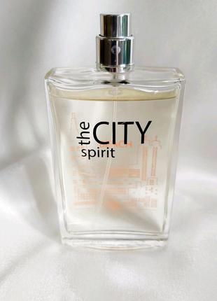 Туалетная вода city the spirit мужская