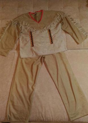Карнавальный костюм индейца, р. s,m