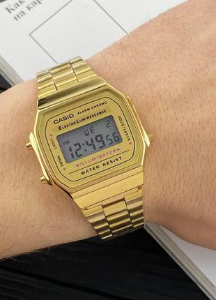 Наручные часы Casio Illuminator F-91W Gold New