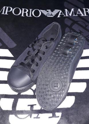 Ролики роликовые кроссовки и кеды кедики фирма heelys side wal...