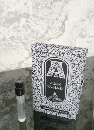 Attar Collection Musk Kashmir_мини пробник vial spray mini 2 мл
