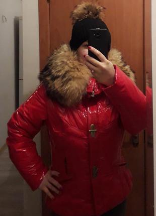 Зимняя куртка в стиле  монклер р 46_48