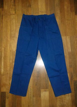 Штаны, брюки рабочие р. 52-54 спецодежда/спецодяг